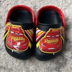 Crocs - Cars. Size toddler 6